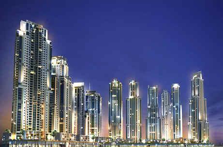 Tháp Trung tâm vịnh UAE Dubai Ⅱ
