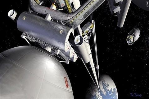 Lên vũ trụ bằng thang máy