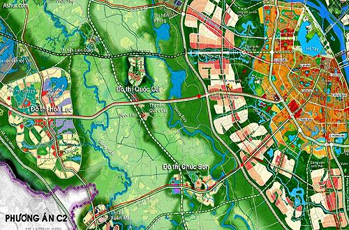 Bản tóm lược quy hoạch chung Thủ đô Hà Nội