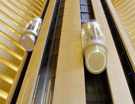Những thang máy ấn tượng nhất thế giới